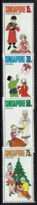 Singapore SC# 138-141, Mint Never Hinged, light tone spot 138 - Lot 050217