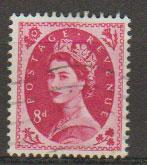 Great Britain SG 581  Used