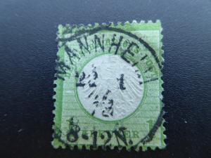 German 1872  Sc.#7   sm.shield,  used