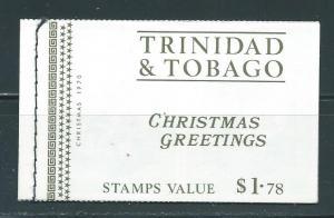 Trinidad & Tobago 191a-94a Christmas booklet MNH