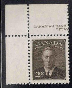 CANADA Scott 285 MNH**  stamp