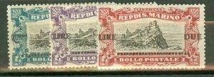 BD: San Marino 90-2 mint CV $64.50