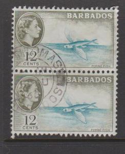 Barbados Sc#242 Used Pair