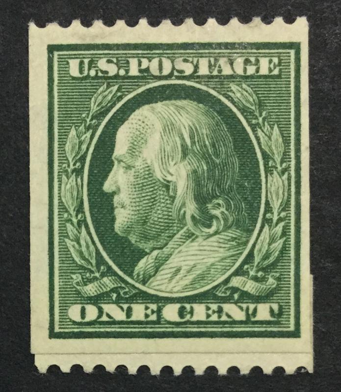 MOMEN: US #385 PASTE-UP MINT OG H $45 #23202