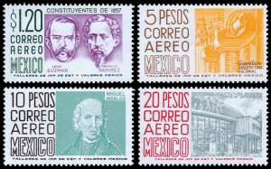 Mexico Scott C289, C296-C298 (1964) Mint NH VF C