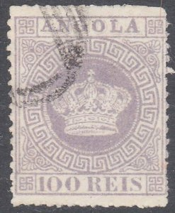 ANGOLA  An old forgery of a classic stamp...................................C923