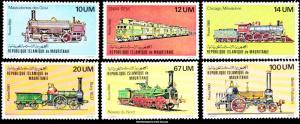 Mauritania Scott 469-474 Mint never hinged.