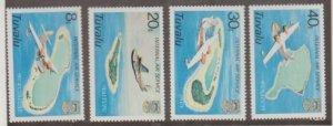 Tuvalu Scott #118-121 Stamps - Mint NH Set