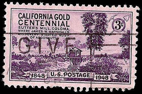 # 954 USED CALIFORNIA GOLD CENTENNIAL