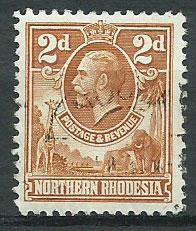 Northern Rhodesia  SG 4 Fine Used