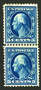 U.S. #335 MINT PAIR NG