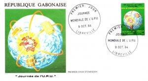 Gabon, Worldwide First Day Cover, U.P.U. Universal Postal Union