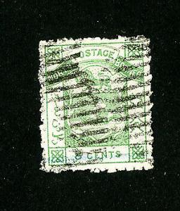 North Borneo Stamps # 3 VF Used Scott Value $60.00