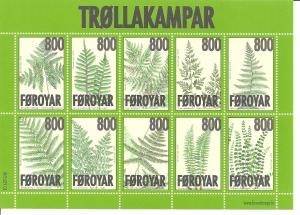 Faroe Islands SC 505 Mint, Never Hinged