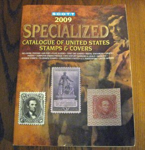 2009 Scott Specialized Catalogue of US Stamps & Covers