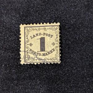 Baden LJ1 A-VF, CV $325