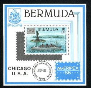 Bermuda #508   Ship  SS  NH VF 1986 PD