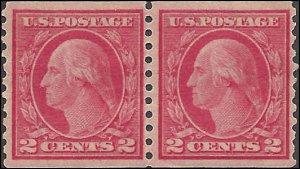 492 Mint,OG,NH... Pair... SCV $45.00