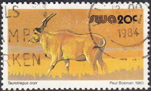 Namibia - Southwest Africa  #458 Used
