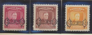 Costa Rica Stamps Scott #C224 To C226, Mint Hinged - Free U.S. Shipping, Free...