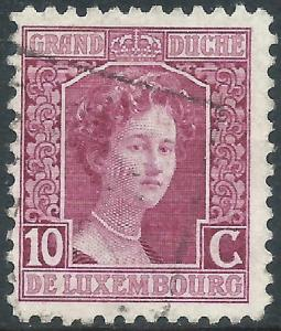 Luxembourg, Sc #97, 10c Used
