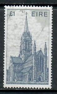 IRELAND ARCHITECTURE ISSUE £1 AND £2 STAMPS USED