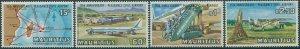 Mauritius 1971 SG431-434 Plaisance Airport set MNH
