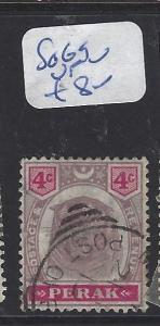 MALAYA PERAK (P1409B)   4C TIGER SG 69  VFU