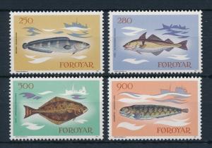 [28285] Faroe Islands 1983 Marine Life Fish MNH