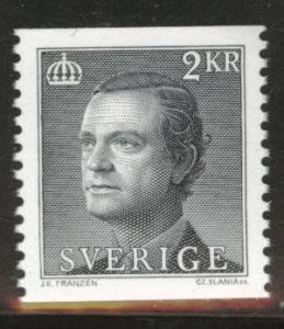 SWEDEN Scott 1440 MNH** 1983 2Kr coil stamp CV$0.70