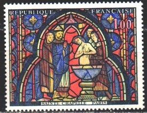 France. 1966. 1559. Stained glass, biblical motives. MNH.