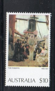 Australia Sc 579 1977 $10 Painting by Tom Roberts stamp mint NH