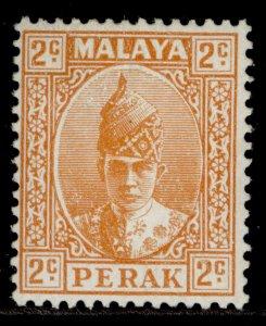 MALAYSIA - Perak GVI SG105b, 2c orange, M MINT. ORDINARY