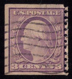US Sc # 445 Washington 1914 F-VF
