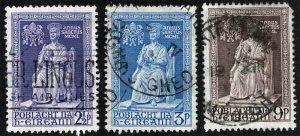 Ireland 142 143 144 Complete Used Set