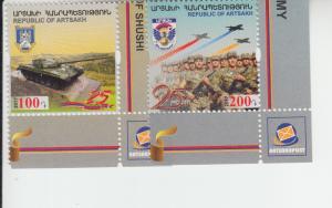2017 Karabakh Artsakh Republic Army (2) (Scott NA) MNH
