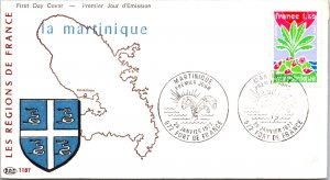 France, Martinique, Worldwide First Day Cover