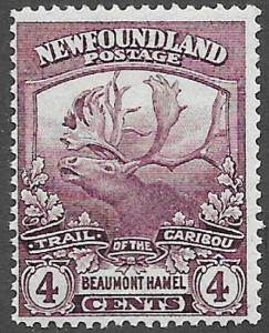 Newfoundland Scott Number 118 F NH