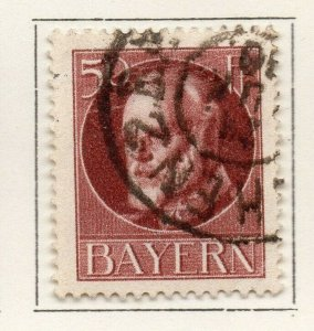 Bayern Bavaria 1914-18 Early Issue Fine Used 50pf. NW-120706