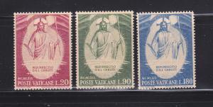 Vatican 467-469 Set MHR Christ (B)