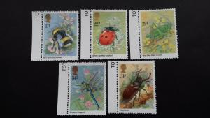 Great Britain Great Britain -1985 Insects Mint
