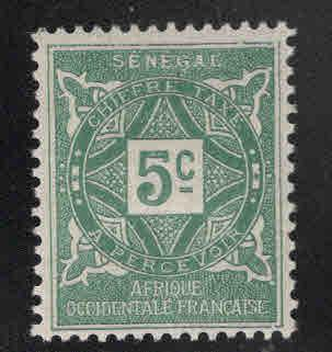 Senegal Scott J12 MH* 1914 postage due