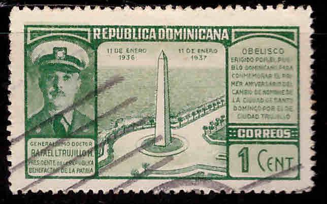 Dominican Republic Scott 323 used stamp