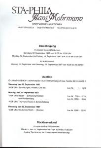 Mohrmann: Sale #   -  Sta-Phila; Hans Mohrmann, Hans Mohr...