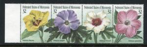 Micronesia 228, MNH,  Flowers 1995. x27173