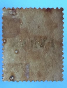 Malaya 1884 Perak opt Straits Settlements QV 2c MLH SG#18 M3278
