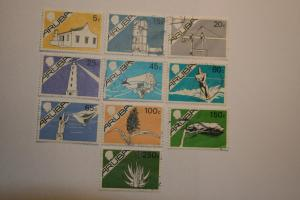 Aruba 1986. Short set. SG5/6/7/8/12/15/16/22/23/24. Mixed