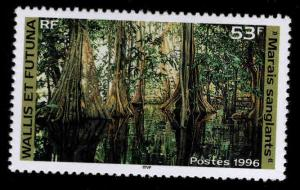 Wallis and Futuna Islands Scott 482 MNH** swamp stamp