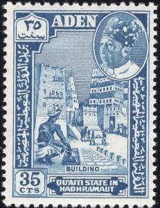 Aden 45 - Mint-NH - 35c Building (1963)