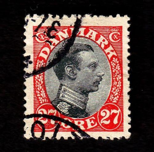 Denmark – Scott #110 Used (King Christian X)